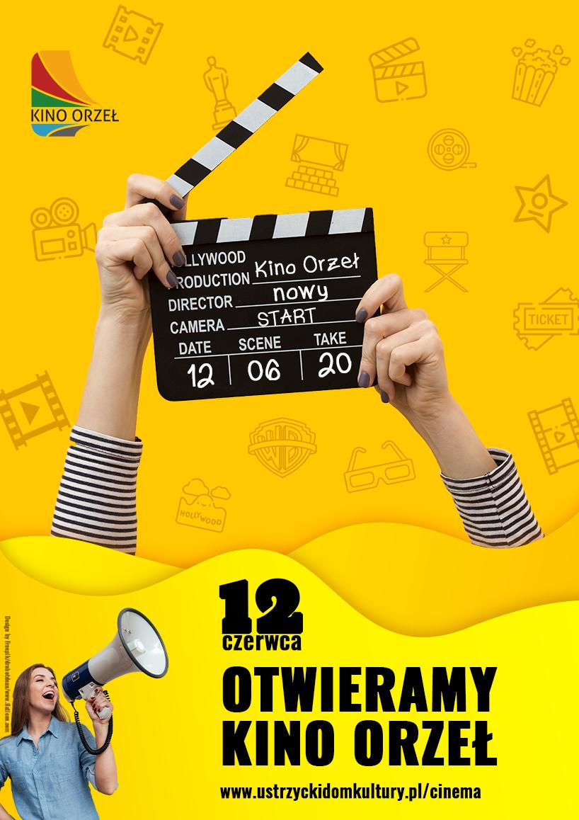 Otwieramy Kino Orzeł - plakat