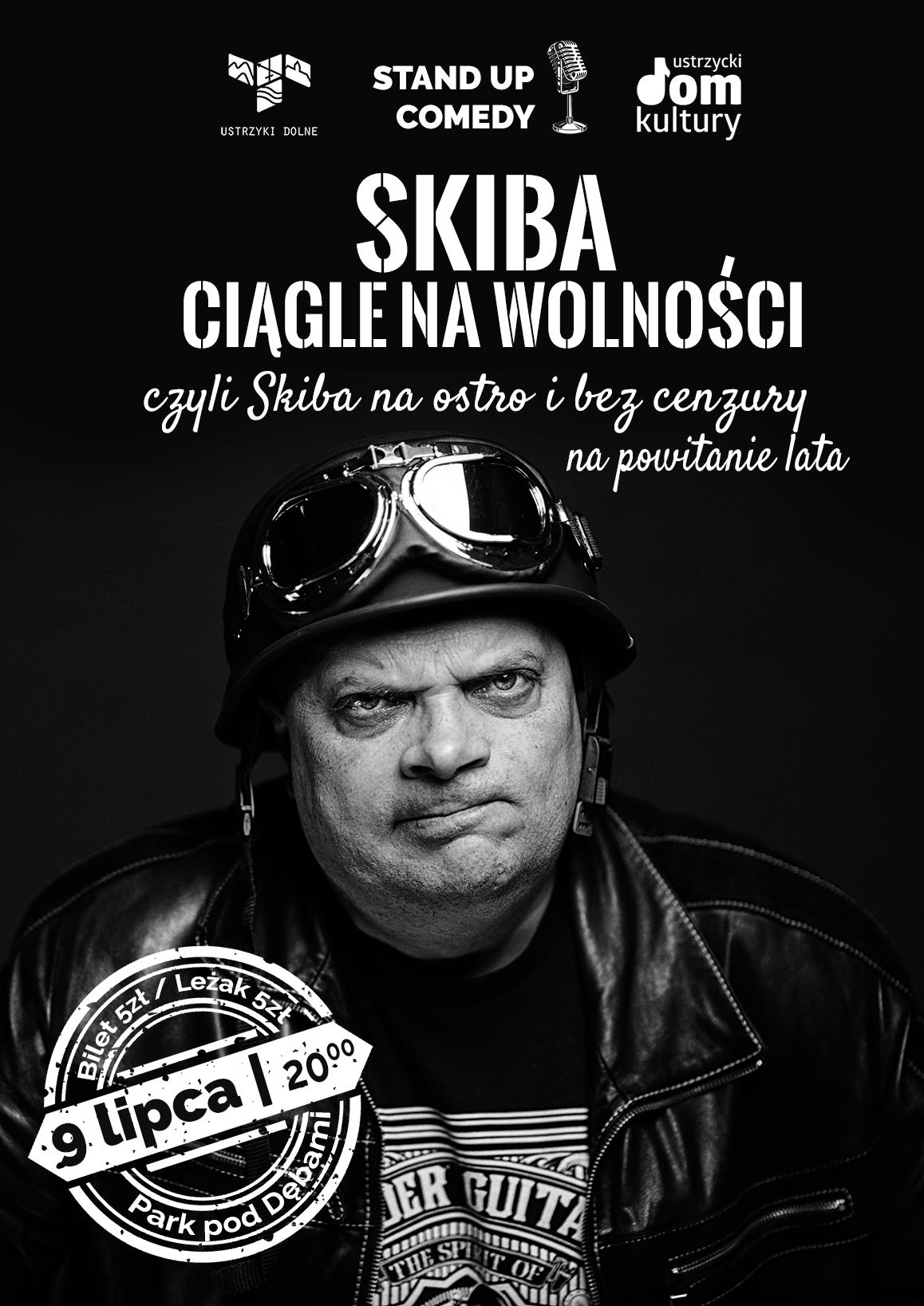Stand up - Skiba. Ciągle na wolności - plakat