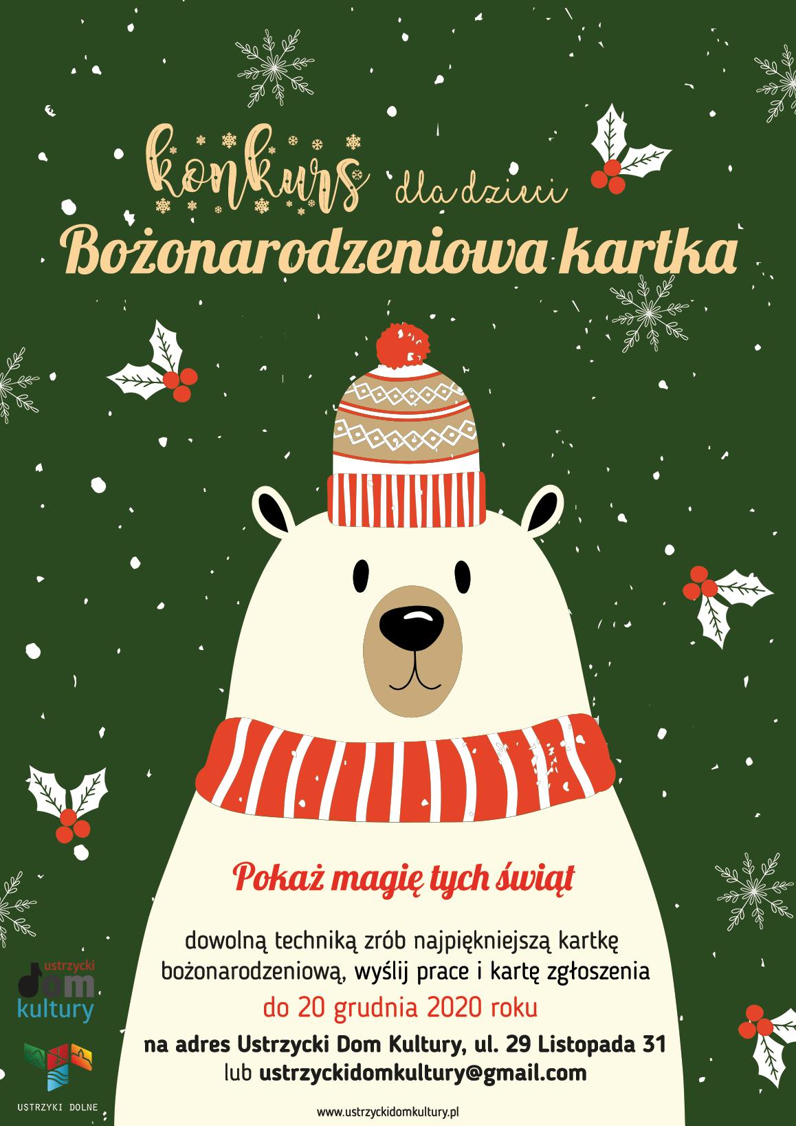 Konkurs kartka bożonarodzeniowa
