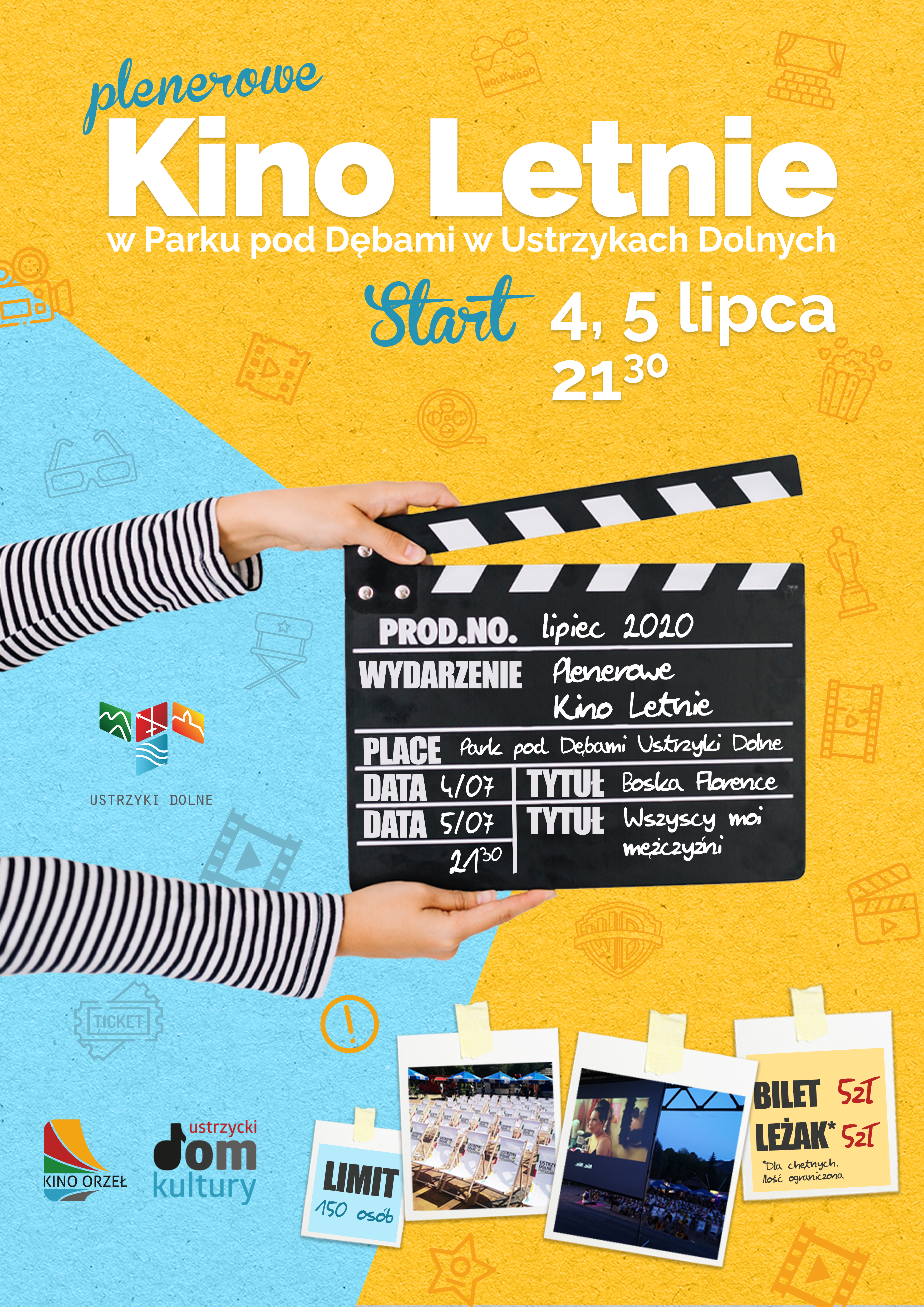 Plenerowe Kino Letnie - plakat