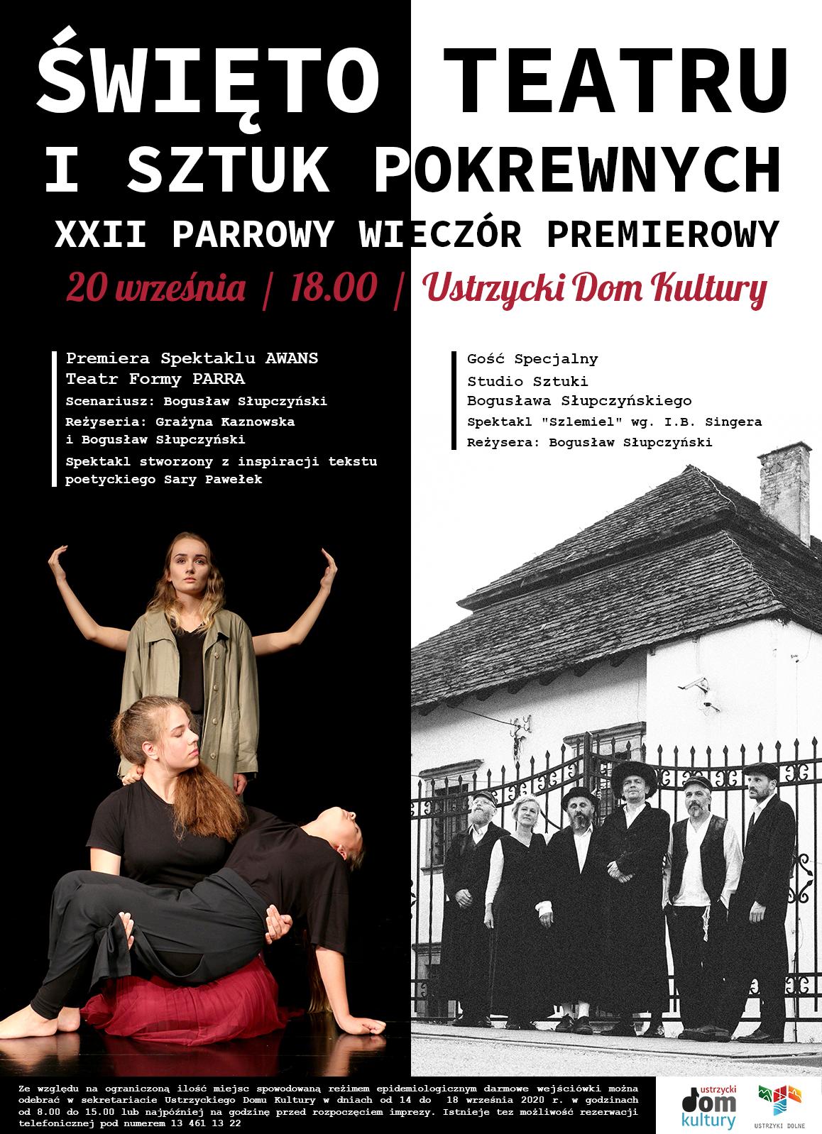 Święto Teatru i Sztuk Pokrewnych - plakat